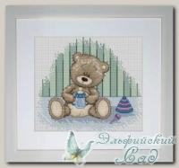 Luca-S Набор для вышивания B1086 *Медвежонок Бруно*