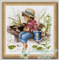 RIOLIS Набор для вышивания 1470 *Ловись рыбка*