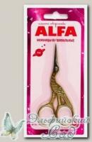 Ножницы вышивальные цапельки ALFA AF-101-30 9 см