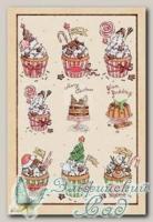 Рисовая бумага для декупажа KPR Love2Art (0003 Новогоднее угощение) 32х22 см, 1 шт