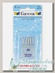 Иглы для швейных машин бытовых GAMMA NT №80 для трикотажа 5 шт