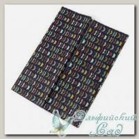 Бумага для декупажа *Усы* PTP-010 Рукоделие, 6 листов - 39.5 х 49.5 см