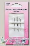 Иглы для вышивания гобеленовые Hemline 203.2426, №24-26, 6 шт