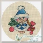 КЛАРТ Набор для вышивания 8-150 *Снегурочка*