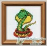 1289 Набор для вышивания *Королева змей*, Riolis