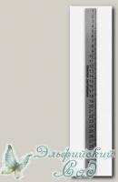 Линейка закройщика (металл) ЛЗС-30 30 см