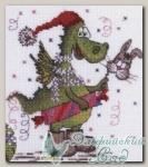 01.033.12 Набор для вышивания *На карнавал*, серия *Новогодние*, Машенька