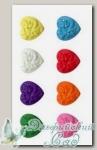 Пуговицы декоративные *Сердце* AY9914 Gamma, 6 шт