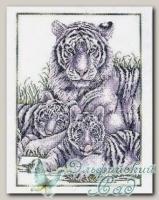 Набор для вышивания *White tigers*, Design Works