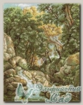 PANNA Набор для вышивания ВХ-1097 *Водопад в лесу*