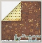 Бумага для скрапбукинга двусторонняя Mr. Painter PSW190/009 1 лист