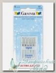 Иглы для швейных машин бытовых GAMMA NT №75 для трикотажа 5 шт