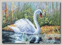 PANNA Набор для вышивания Ж-0306 *Белый лебедь*