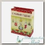 NVBM Подарочный пакет *Новогодняя гирлянда* Stilerra 26x32x12 см
