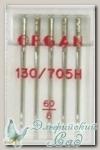 Иглы ORGAN для бытовых швейных машин - универсальные № 60, 5 шт