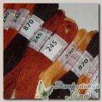 Мулине нитки шерсть/акрил Riolis (Риолис)