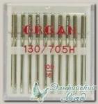 Иглы ORGAN для бытовых швейных машин - универсальные № 100, 10 шт