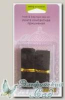 Лента контактная, пришивная *липучка* (черная) Wellcraft 302042 20 мм х 20 см