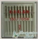 Иглы ORGAN для бытовых швейных машин - универсальные № 70, 10 шт