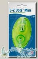 Двусторонняя лента для временного размещения, точки, серия E-Z Dots MINI 01671 ширина 8 мм, 8 м