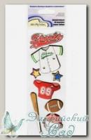 Декоративные 3D-наклейки QS Mr. Painter (19 Бейсбол)