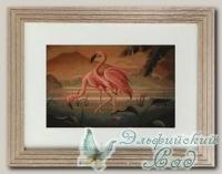 G339 Набор для вышивания *Пара фламинго*, Luca-S