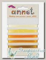 Набор атласных лент Annet ARS (цвет - 009 желтый)