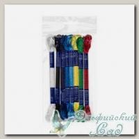 Набор мулине для вышивки VM-08 Gamma вискоза 8х8 м (№04 Яркие краски)
