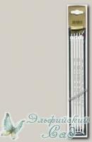 201-7/6-23 Чулочные спицы Адди (Addi) d=6 мм 23 см