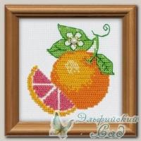 1263 Набор для вышивания *Апельсин*, Riolis