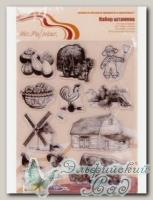 ASM-20 Набор штампов *Сельская жизнь №1* Mr. Painter