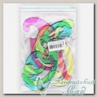 Набор лекал (прозрачные цветные) РНЛ01 4 шт