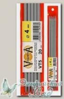 Чулочные спицы Visantia VT5 d=4 мм 20 см