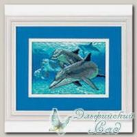 DIMENSIONS Набор для вышивания 6944 *Морские дельфины*