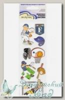Декоративные 3D-наклейки QS Mr. Painter (07 Спорт)