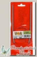 Спицы круговые для вязания Visantia VTC d=3,5 мм 100 см