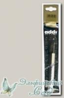 148-7/4.5-15 Крючок для вязания Адди (ADDI) с пластиковой ручкой d=4,5 мм, 15 см