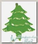 Клипсы *Елки зеленый* 7868729 Rayher, 15 мм, 25 шт