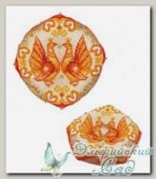 RIOLIS Набор для вышивания 1474AC *Свадебная подушечка для колец*