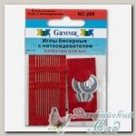 Иглы бисерные Гамма (Gamma) NC-208 12 шт d=0.34 мм