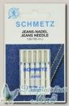 Иглы для бытовых швейных машин для джинсы Schmetz № 80, 5 шт