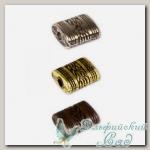 Бусины под металл Златка (Zlatka) PBM-04 12х10x5 мм, 50 шт