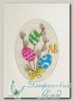 RIOLIS Набор для вышивания 1381АС *Открытка *Праздничная*