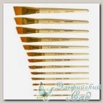 Кисть художественная скошенная 22, синтетика Mr. Painter SBA206-22