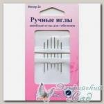 Иглы для вышивания гобеленовые Hemline 203.24, №24, 6 шт