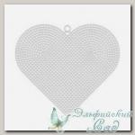Пластиковая канва *Сердце большое* Gamma KPL-04 17х15 см