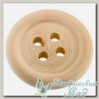 Заготовка для декора *Пуговица* DE-047 Mr. Carving d=9 см ширина 1,5 см 1 шт