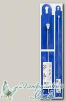 Тунисский крючок для вязания Гамма (Gamma) SH1 d=2 мм 36 см