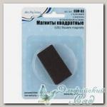 Магниты квадратные с клеевым слоем на вспененной основе SSM-03 Mr. Painter 4 шт