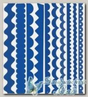 Набор бумажных лент Just the Edge 1, Bazzill Basics, 20 шт (302743 синий)